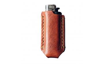 Kožené a ručně šité pouzdro na zapalovač